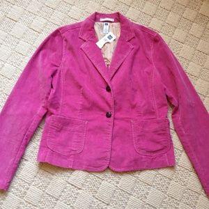 NWT Gap Stretch pink blazer jacket